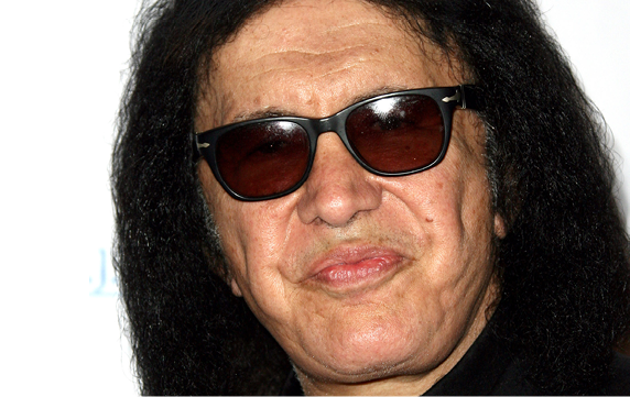 CENTURY CITY, CA - SEPTEMBER 23:  Musician Gene Simmons attends the T.J. Martell Foundation Spirit Of Excellence Awards Los Angeles held at the Hyatt Regency Century Plaza on September 23, 2014 in Century City, California.  (Photo by Tommaso Boddi/WireImage)
