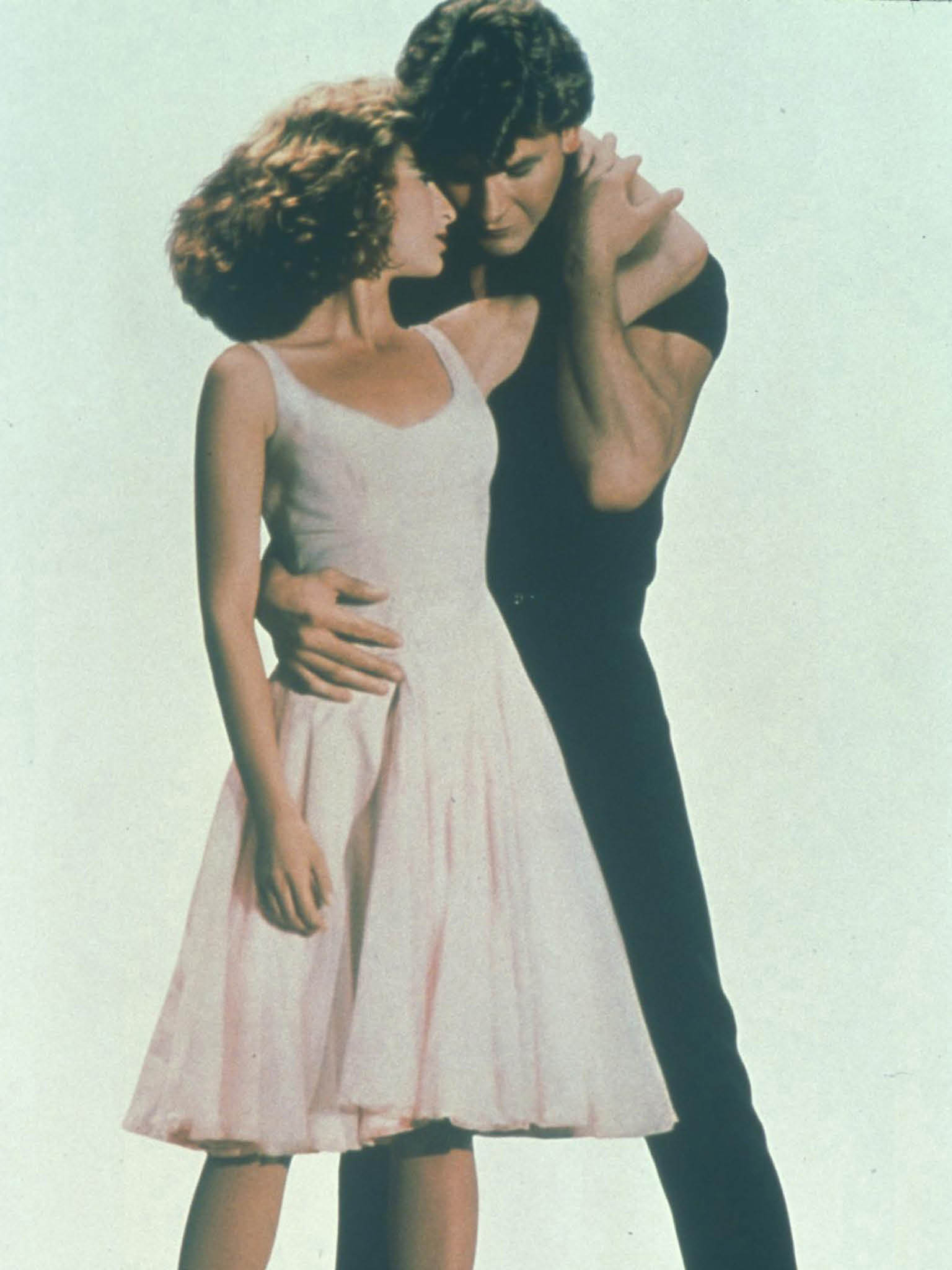 JENNIFER GREY   PATRICK SWAYZE in Dirty Dancing *Filmstill - Editorial Use Only* CAP/FB Supplied by Capital Pictures